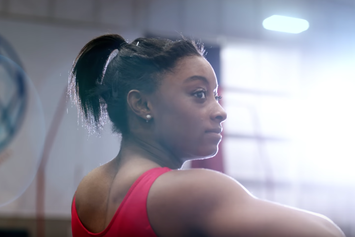 """Watch Simone Biles' Newest Nike Commercial Ft. Beyonce's """"Jealous"""""""