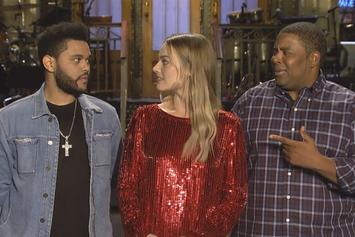 The Weeknd & Margot Robbie Star In SNL Promo