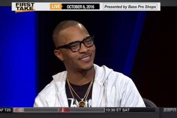 "T.I. On ESPN's ""First Take"""