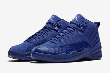 "Release Reminder: ""Deep Royal Blue"" Air Jordan 12s Launch Tomorrow"