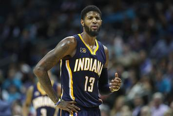 NBA Fines Paul George $15,000 For Kicking The Ball Into The Stands