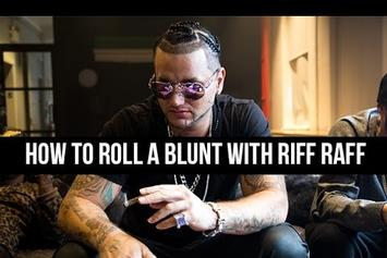 How To Roll A Blunt With RiFF RaFF