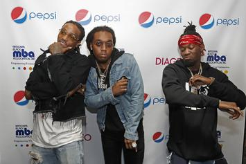 """Migos """"Bad & Boujee"""" Earns Trio First Top 10 Hot 100 Entry"""
