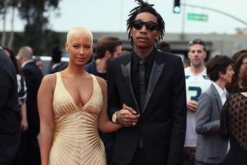 Wiz Khalifa & Amber Rose Dress Up As Batman For Their Son's Birthday