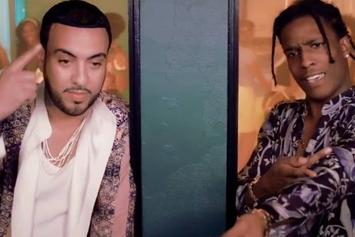 """French Montana Feat. A$AP Rocky """"Said N Done"""" Video"""