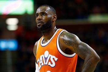 "LeBron James Apologizes To His Wife For His ""Journey To Greatness"""