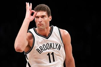 "Brook Lopez Says He's ""Pulling For Ibaka"" In Fight With Robin Lopez"
