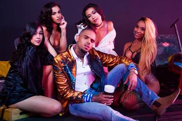 "Chris Brown Shoots Music Video For ""Privacy"""