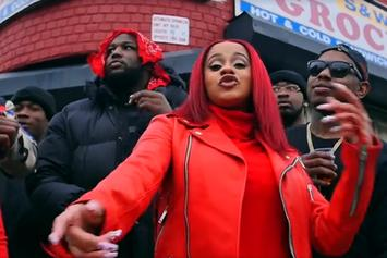 "Cardi B ""Red Barz"" Video"