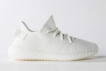 """""""Cream White"""" Adidas Yeezy Boost 350 V2 Releasing In Sizes For The Whole Fam"""