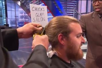 Charles Barkley Paid TNT Crew Member $1,000 Cash To Cut Off His Man Bun