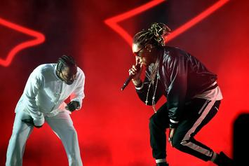 Watch Kendrick Lamar Bring Out Future, Travis Scott, & ScHoolboy Q At Coachella