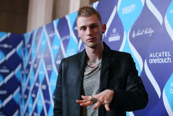Machine Gun Kelly's Fractured Sternum Delays Concert Dates