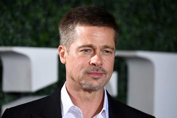 Brad Pitt Says Frank Ocean's Music Has Helped Him Get Through His Divorce