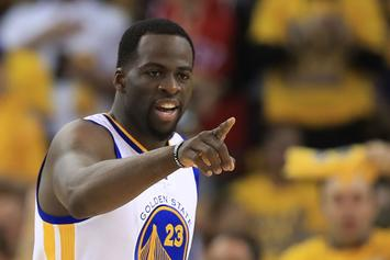 """Draymond Green On Kelly Olynyk: """"He's Dirty. I Don't Respect Guys Like That"""""""