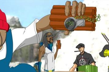 "Snoop Dogg Feat. Redman, Method Man, B-Real ""Mount Kushmore"" Video"