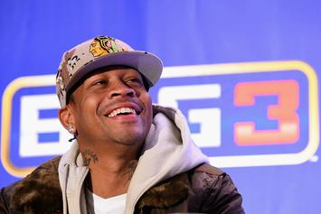 Allen Iverson Gives Behind The Scenes Look At His Big3 Training
