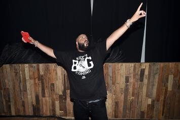 """DJ Khaled Scores First No. 1 On R&B Charts With """"Wild Thoughts"""""""