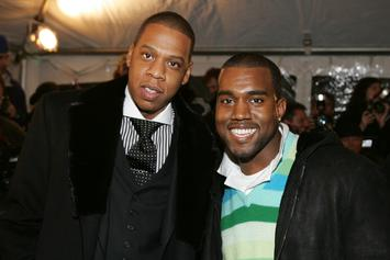 """Watch The Trailer For The Jay-Z & Kanye West Documentary """"Public Enemies"""""""