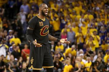 LeBron James Corrects Score Keeper At 12-Year Old Son's AAU Game