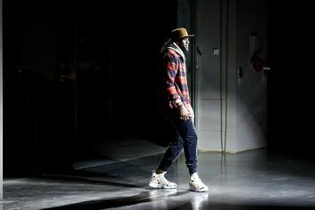 "LeBron Walks Runway At KITH Fashion Show, Debuts ""Floral"" LeBron 15"