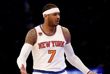 Carmelo Anthony Ranked 64th On ESPN's NBA Top-100: Twitter Reacts