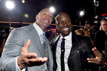 """Tyrese Fires Shots At Dwayne """"The Rock"""" Johnson Over """"Fast & Furious"""" Spinoff"""