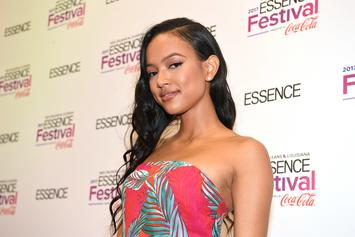 Karrueche Tran Wears See-Through Pants, Thong Out To Dinner In L.A.