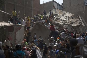 Massive Earthquake Strikes Mexico Killing Over 225 People & Counting