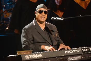 Stevie Wonder Takes a Knee At Global Citizen Festival