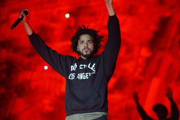 J. Cole Asks Fans To Boycott NFL In Support Of Protesting Players