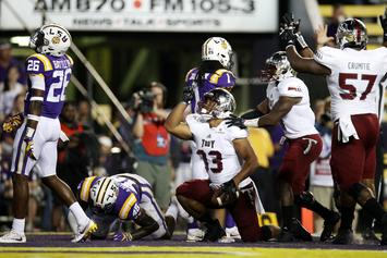 Twitter Reacts to Troy Football Program's Victory over LSU
