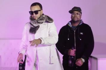 "French Montana, Dave East & Zoey Dollaz Assist DJ Kay Slay In New Video ""Rose Showers"""