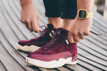 """Bordeaux"" Air Jordan 12 To Release This Weekend"