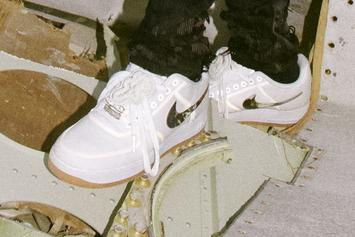 Travis Scott x Nike Air Force 1 Release Details Announced