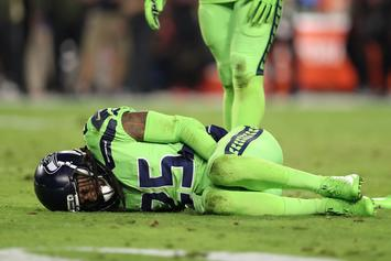 Richard Sherman Ruptures Achilles Tendon; Expected To Miss Rest Of NFL Season