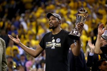 """Kevin Durant Named GQ's """"Champion Of The Year"""""""