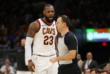 LeBron James Ejected For First Time In His NBA Career