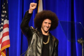 """Colin Kaepernick Named Finalist For TIME's """"Person Of The Year"""""""