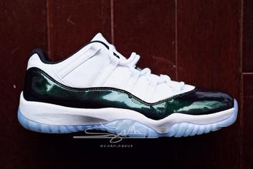 """Easter"" Air Jordan 11 Low To Release In 2018: First Look"