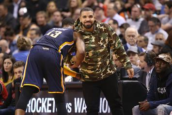 Drake & Tory Lanez Spotted Playing Basketball In Miami