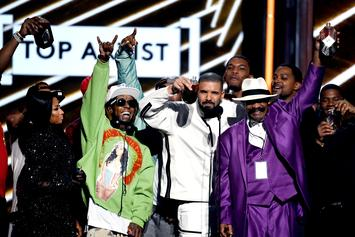 Watch Drake & Lil Wayne Perform For A Crowd That Includes Odell Beckham Jr.