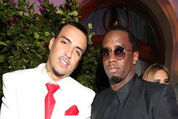 Diddy & French Montana Play Tennis While DJ Khaled Watches In New Ciroc Ad
