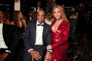 """Beyoncé Shares Photos From Jay-Z's """"Family Feud"""" Shoot On Instagram"""