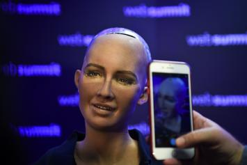 Humanoid Robot Sophia Now Has Working Legs In Giant Leap For AI
