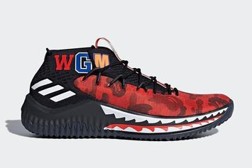 "BAPE x Adidas Dame 4 Surfaces In ""Friends & Family"" Colorway"