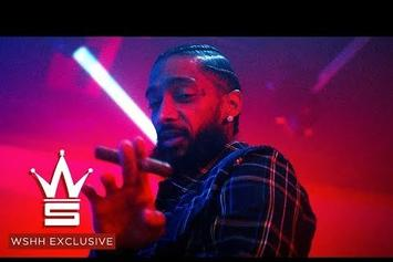 "Nipsey Hussle & Swizz Beatz Drop Off The ""Been Down"" Video"