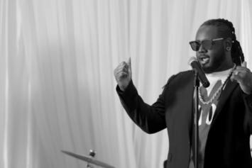 """T-Pain Is A Wedding Singer In New """"May I"""" Video"""