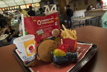 McDonald's Removes Cheeseburger From Happy Meal Menu