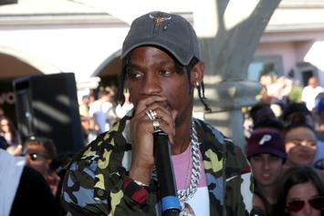 """Travis Scott Rents Out Movie Theatres For Kids To Watch """"Black Panther"""""""